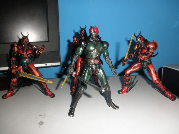 Black RX VS Trio Another Shadow Moon