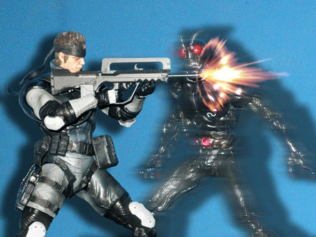 """Snake: """"What the hell?!"""""""