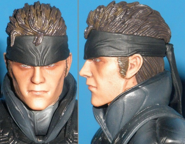 Head Sculpt of Solid Snake