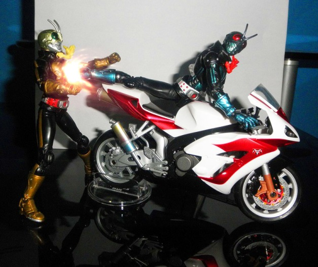 "1Go: ""TOH!!"" Shocker Rider 1: ""Aaarrgghh"""