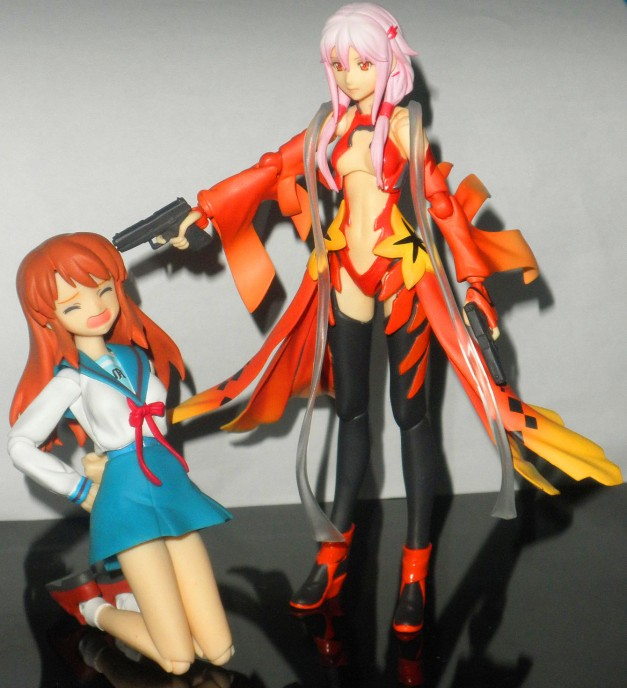 "Inori: ""Shut your mouth or I'll blow your brain's out!"""
