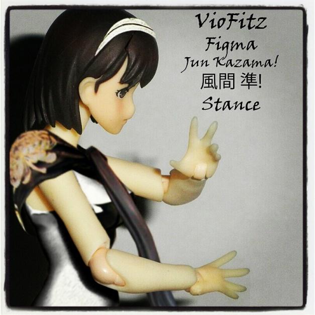 Jun Kazama, Figma Style! Battle Stance!