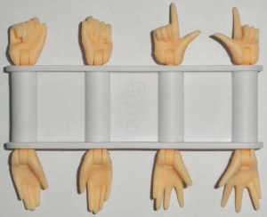 Interchangeable Hand Parts