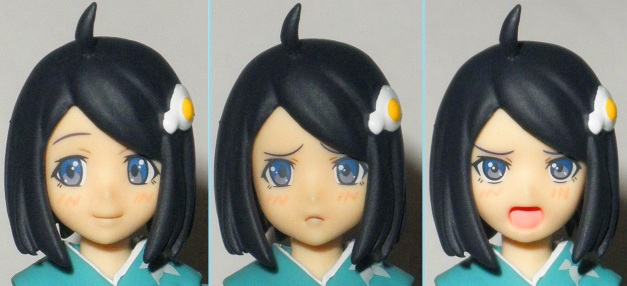 Head Sculpt 02 with 3 variable faces