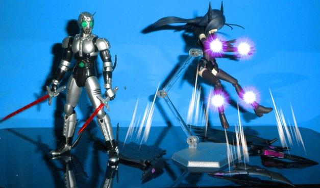 """Kuroyukihime """"KYAAAH.. My Battle Assault mode?!"""""""