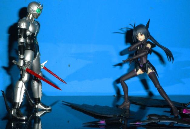 "Kuroyukihime: ""Fine I'm going to make you eat that swords!!"""