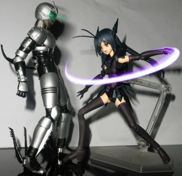 "Kuroyukihime: ""You've made me developed a crush mode on you!!"""