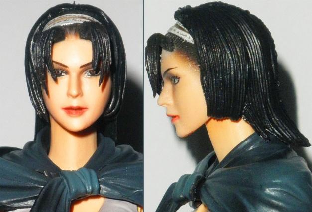 Head Sculpt, front & side view