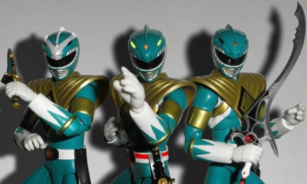 Green Ranger, Powerless Ranger, & Dragon Ranger