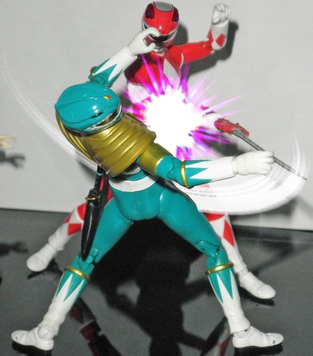 "Red Ranger: ""Fuck off, greenie!!"" Dragon Ranger: ""GWAAAAHHHH...."" Nozomi: ""Onii-chan?!"""