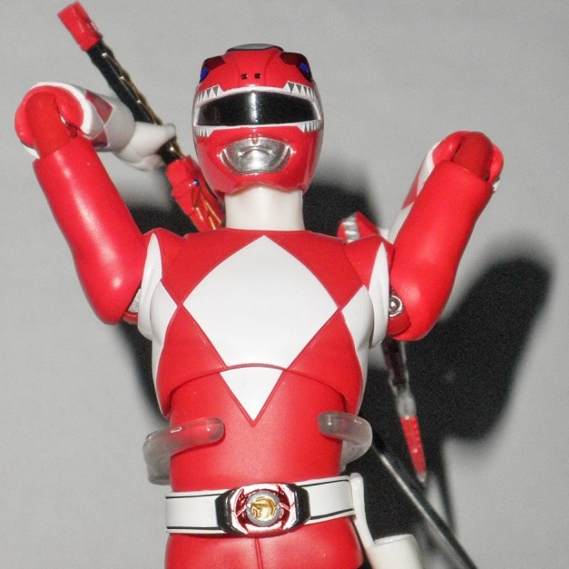 "Red Ranger: ""I'll tear you APART!! HYAAAHHH!!!!"""