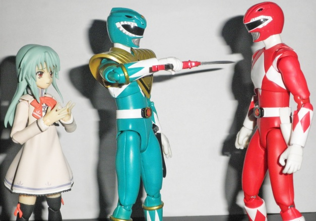 "Tyranno Ranger: ""Nii-san?! What have I done?!"" Dragon Ranger ""It's okay, Geki. This is your Ryuugekiken."""