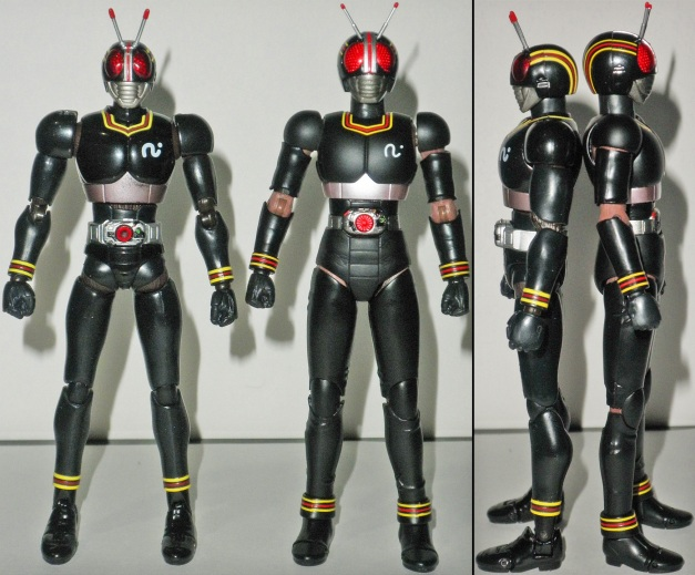 Kamen Rider BLACK old & Renewal Comparison