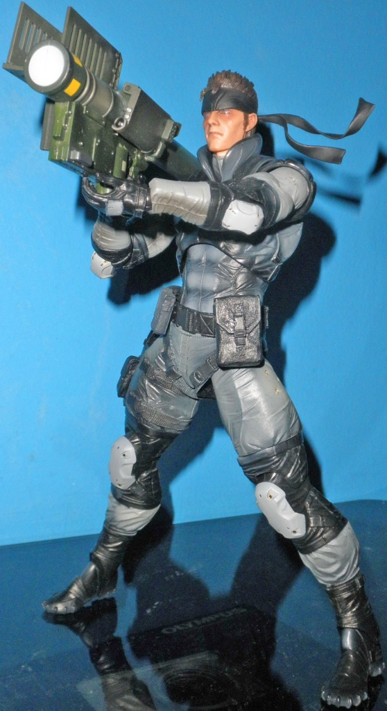 Solid Snake with Stinger Missile Part.