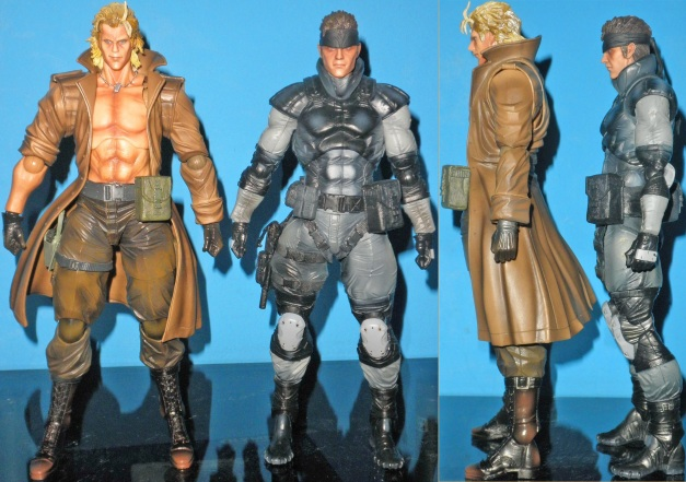 Height comparison between Solid Snake