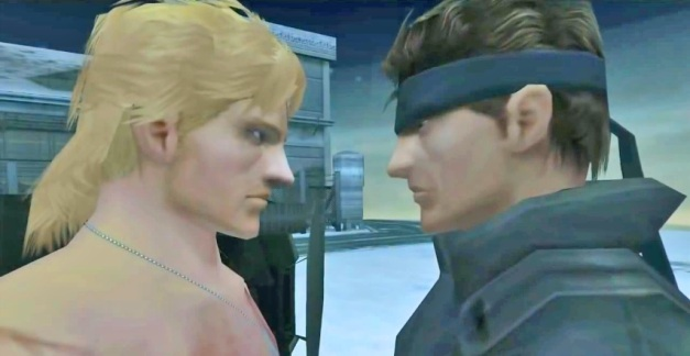 Metal Gear Solid: The Twin Snakes footage showing height between 2 Snakes.