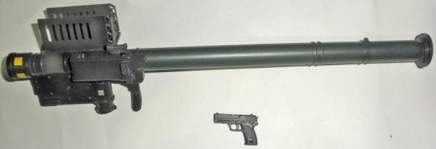 Stinger Missile & USP Handgun