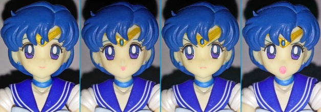 Head Sculpt with 3 variant faceplates
