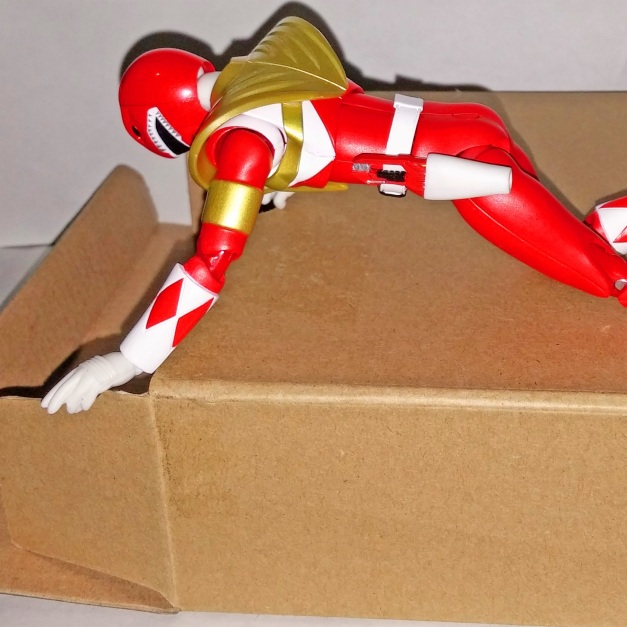 "Kibaranger: ""I tried but, that box brainwashed me by turning me as a stupid Power Rangers character...."" Armed Tyranno Ranger: ""But, why me?"" Kibaranger: ""Because your Armed form aren't popular in your US counterpart, so you should be able to open it easily...."" Armed Tyranno Ranger: ""... So painful but, you got that right...."""