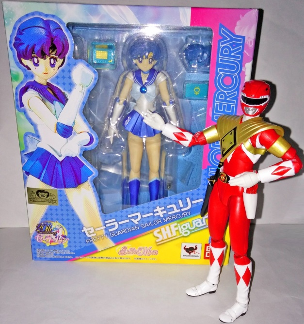 "Armed Tyranno Ranger: ""Readers, Sailor Mercury will be VioFitz next figure review, so stay tuned, ok?"""