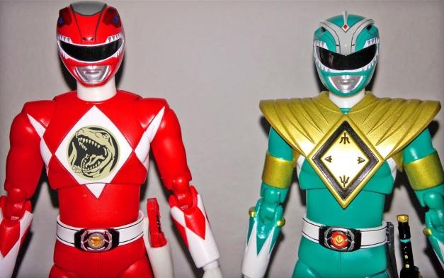 """Red & Green Ranger: """"....."""""""