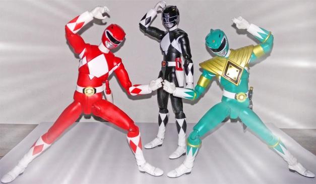 "Tyranno & Dragon Ranger: ""Fuuu.... Sion!! HAH!!"" Mammoth Ranger: ""???"""