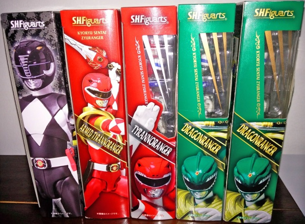 My Favorite Zyuranger Collections is now complete!!