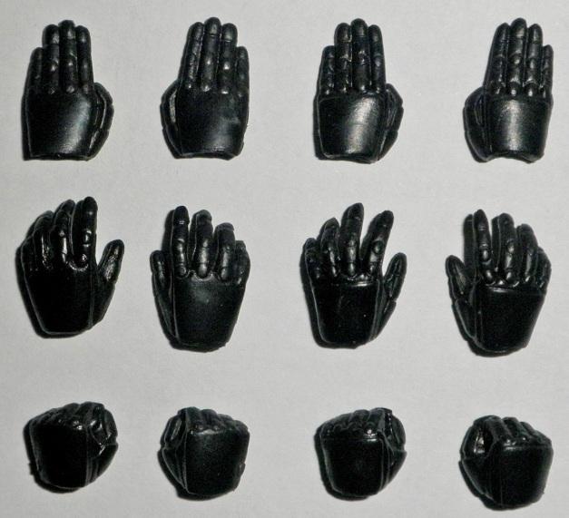 Hands Comparison