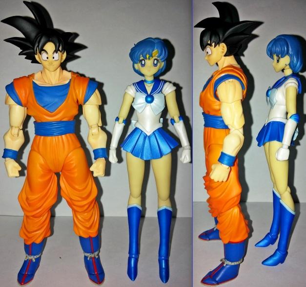 Height Comparison between Sailor Mercury
