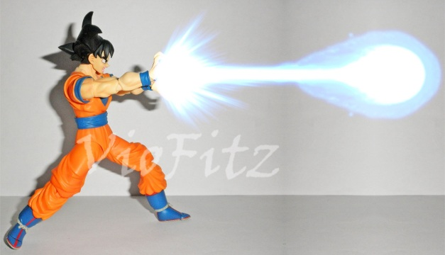 Damn, I've always wanted to do this on my Goku figure!