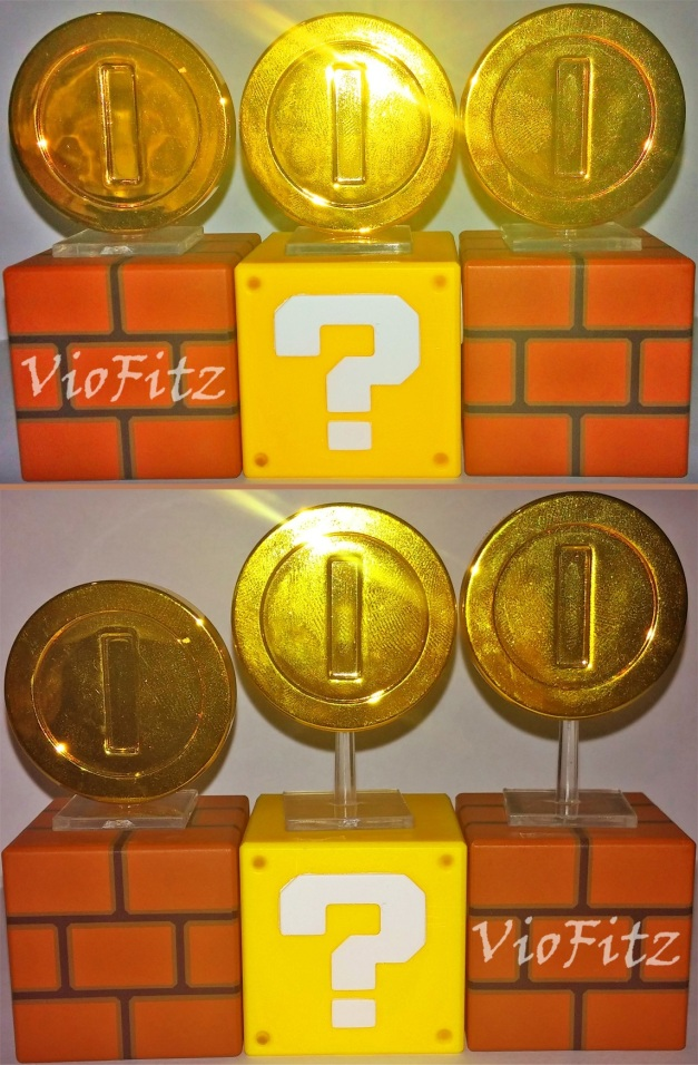 Horizontal Blocks with coin on the Blocks