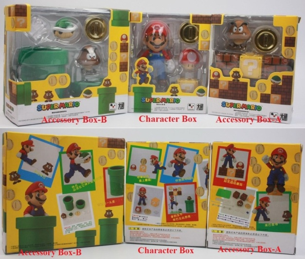 Datong Mario & Playsets Box