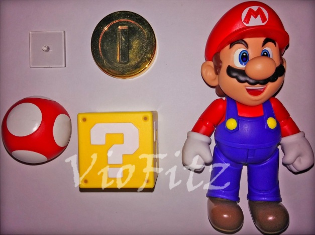 Interchangeable Accessories for Mario