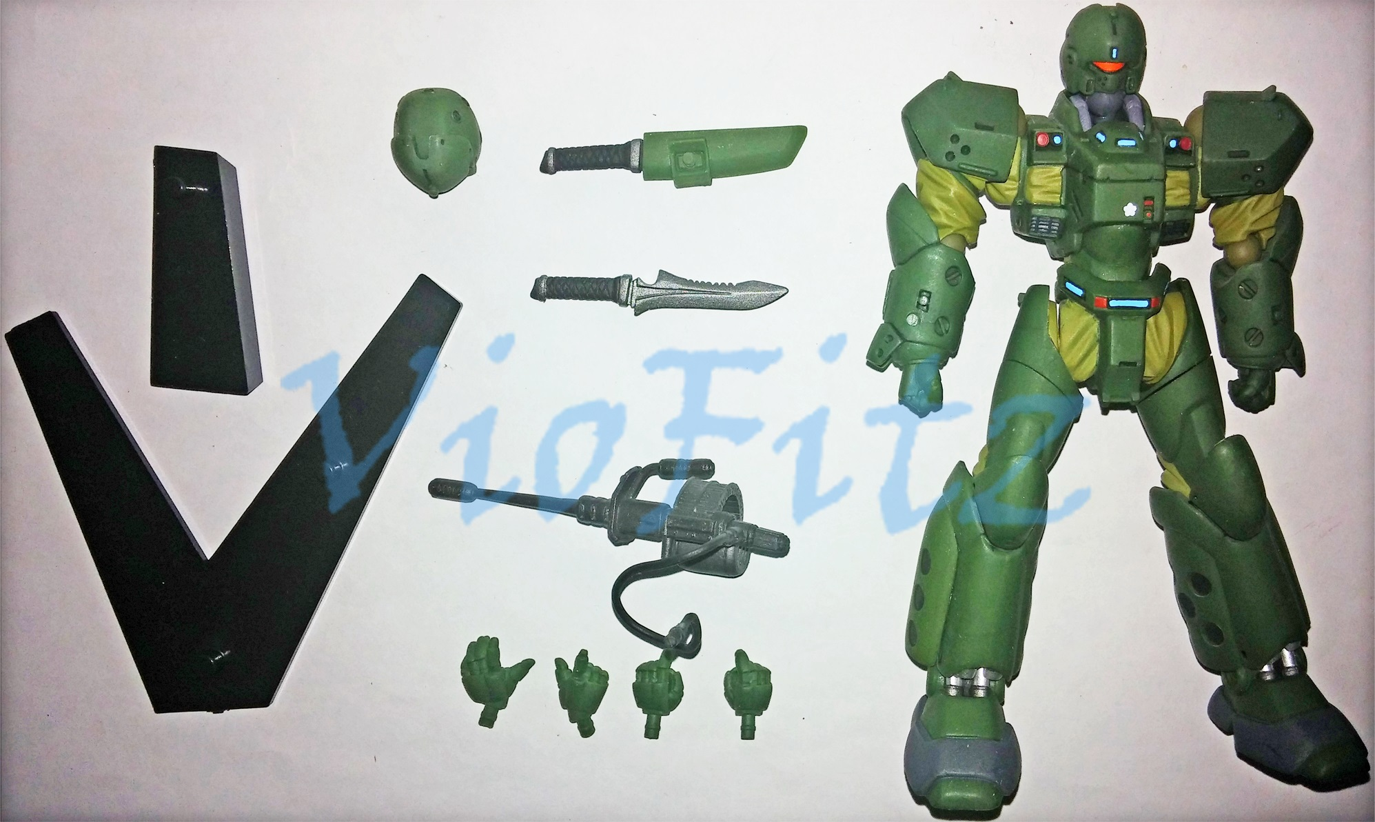 Interchangeable Accessories For Saturn HellDiver