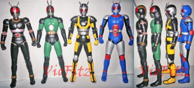 Height Comparison between BLACK, BLACK RX, & Robo