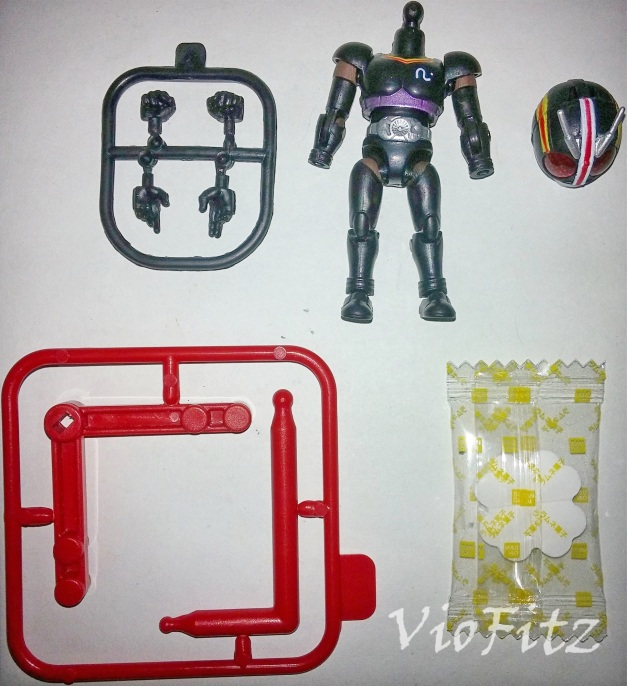 Interchangeable Accessories for 66 Action Kamen Rider BLACK