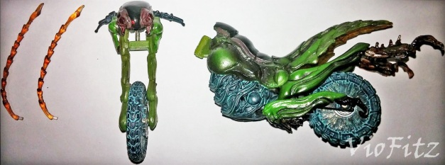Interchangeable Accessories for S.I.C. Takumi Damashii Battle Hopper