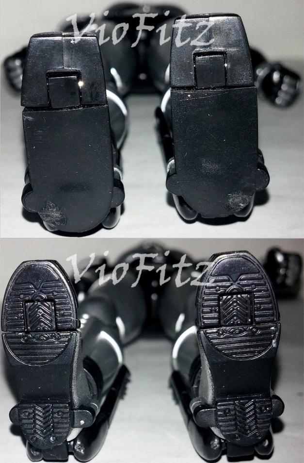 Shoe soles comparison