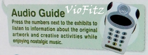 Audio Guide on the booklet