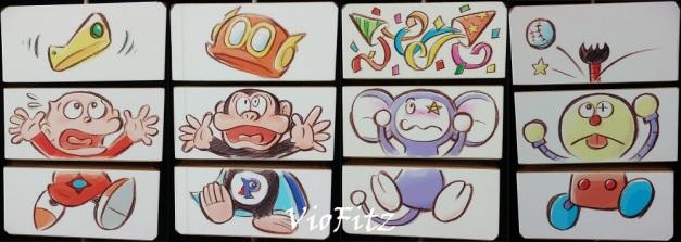 Correct puzzle arts: Denka, Booby, Chinpui, & Korosuke