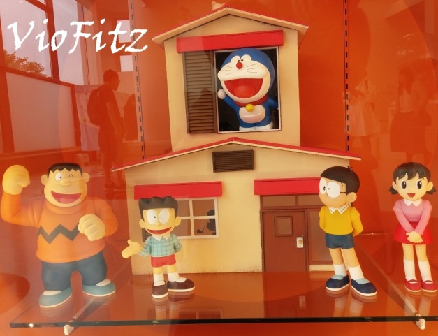 Display of Nobita's house & his gangs.