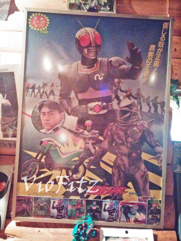 Some cool Kamen Rider BLACK's poster
