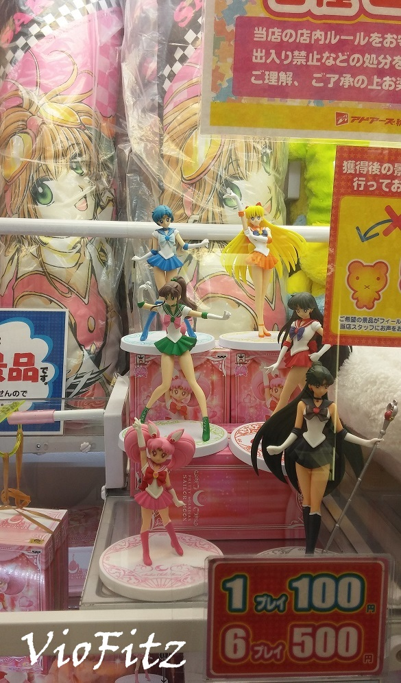 Gashapon Sailor Moon