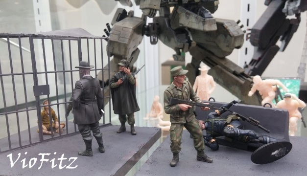 Metal Gear Solid V: Ground Zeroes diorama