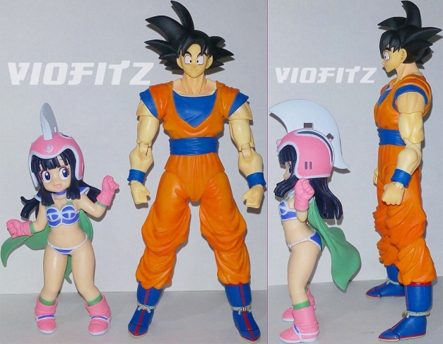 Height Comparison between SHF Son Gokou
