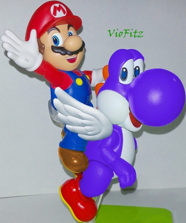 Wow!! Eventhough, it's an edit I'm loving how Blue Yoshi turned out!! Personally, the blue one is my favorite!!