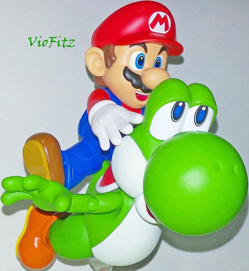 Review: S.H.Figuarts: Yoshi And The Bonus(English) | VioFitz | 840 x 915 jpeg 224kB