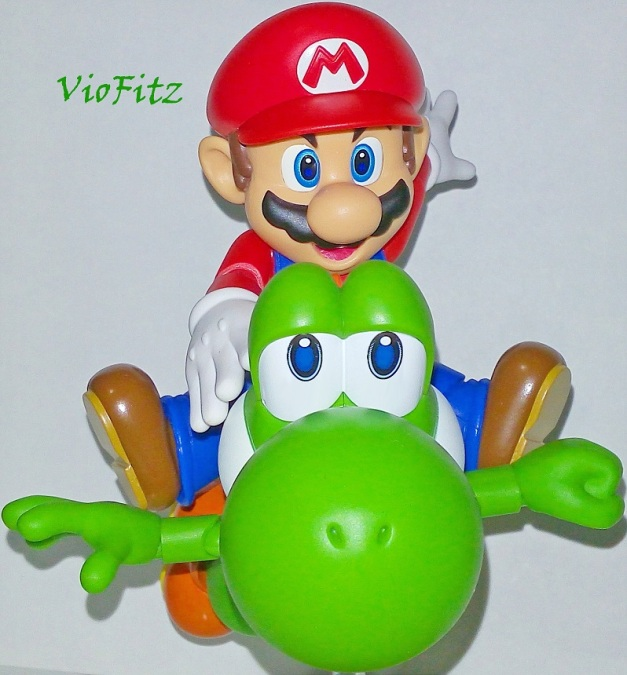 "Mario: ""We're flying!!"""