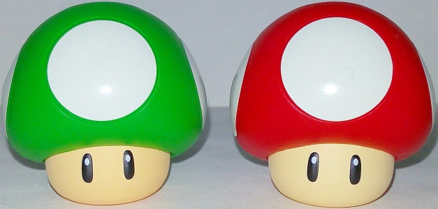 1UP & Red Mushroom