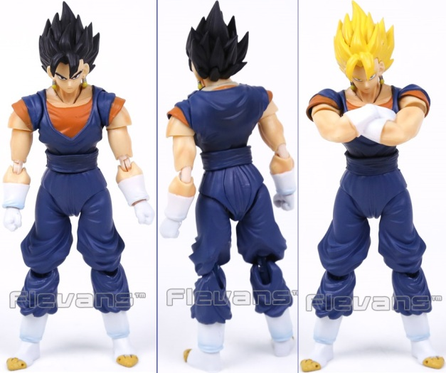 Bootleg Vegetto Front, Back & SSJ Mode